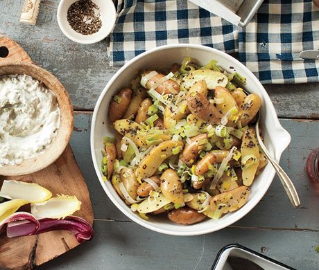 Purple Potato Salad Recipe Epicurious