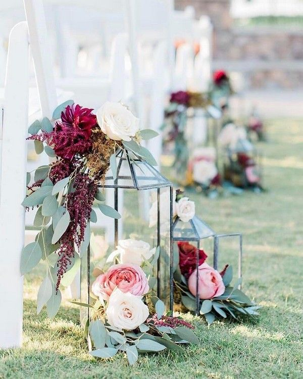 20 Burgundy And Greenery Wedding Color Ideas Forever And