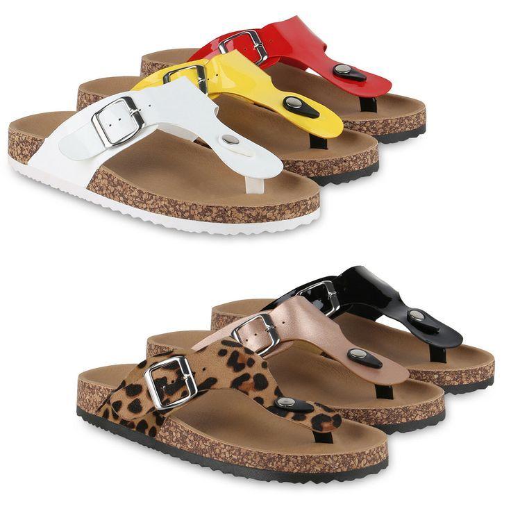 Zehentrenner Sandalen. bequeme damen sandalen zehentrenner