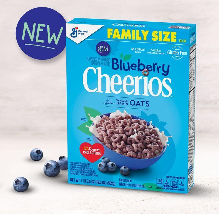 NEW Blueberry Cheerios™ - New Breakfast Options -