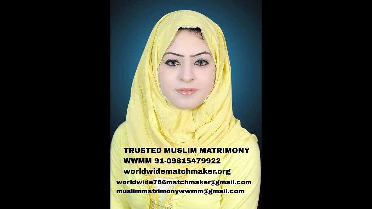 Muslim marriage matrimony