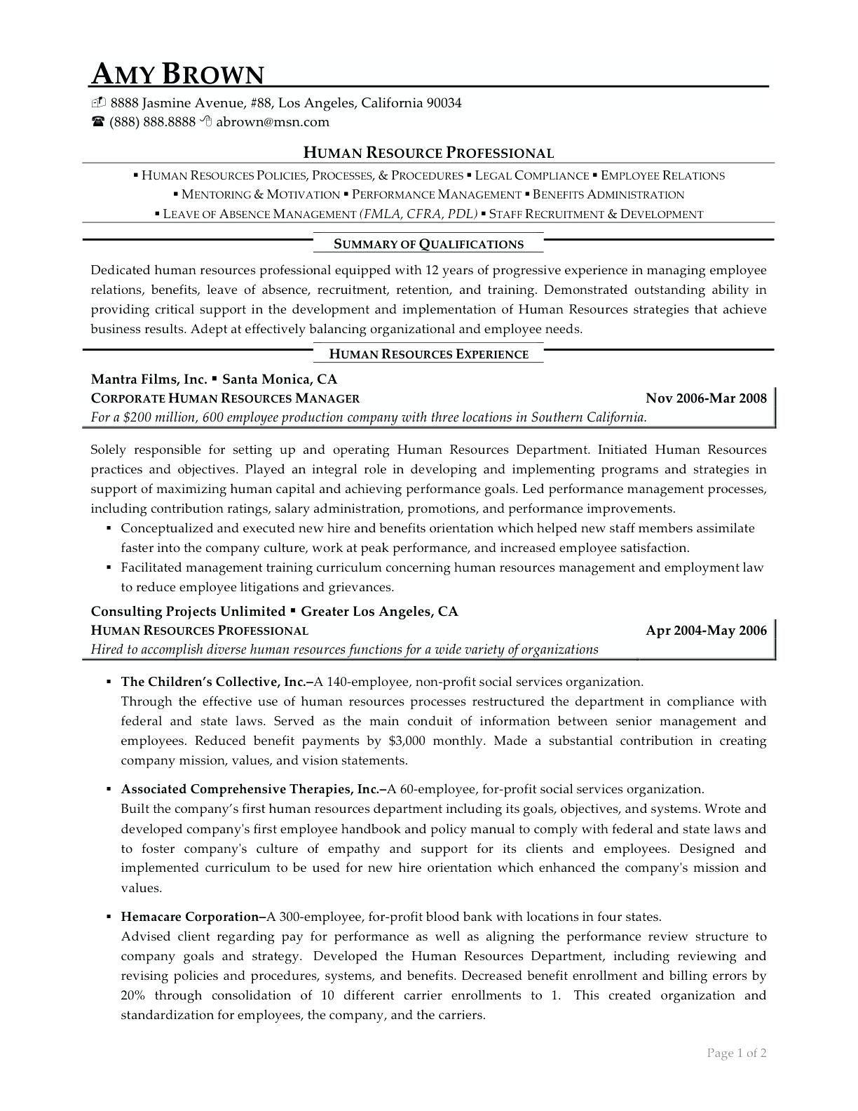 Benefits analyst resume samples 2019 benefits analyst