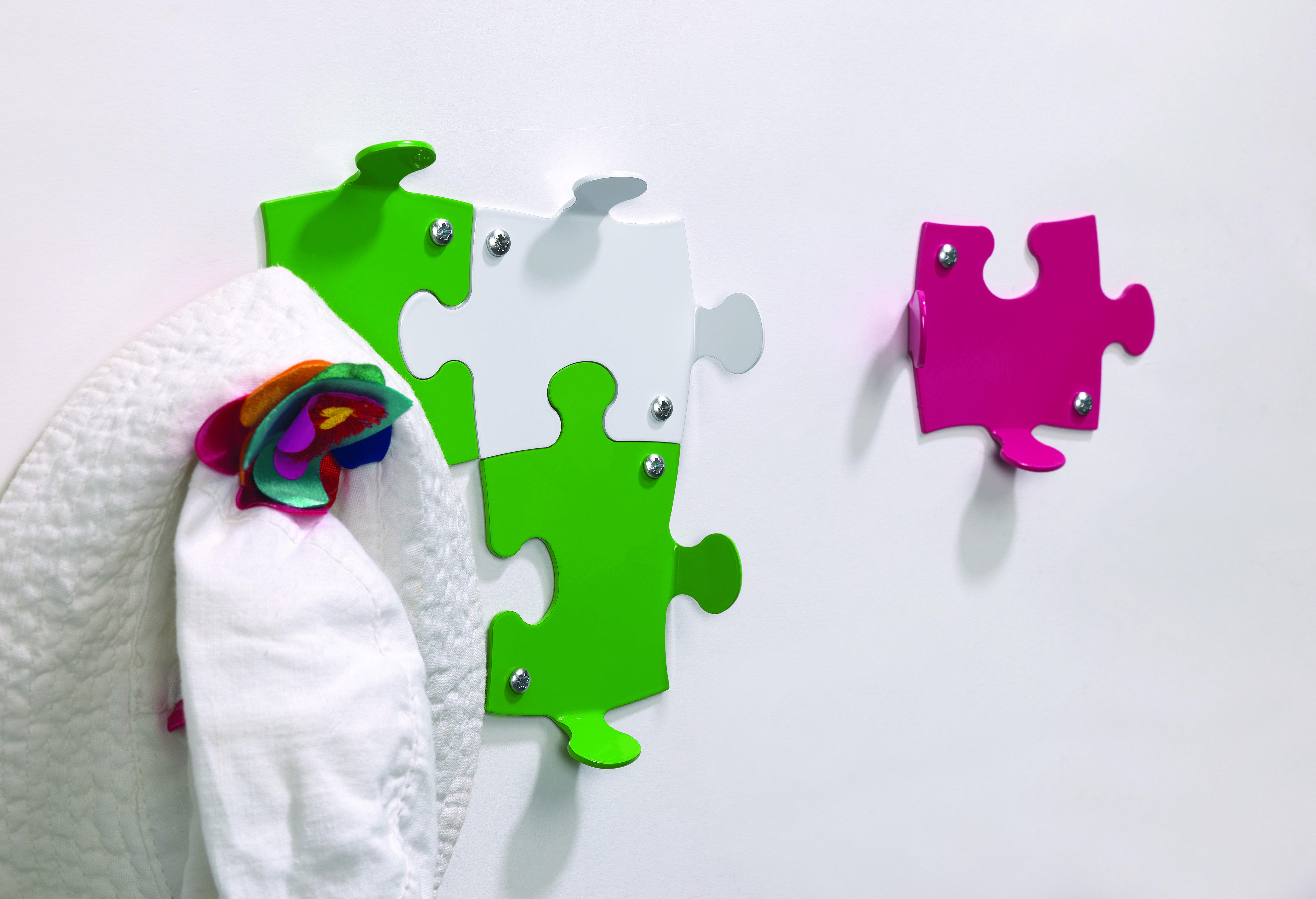 Ganci Appendini.Puzzle Design Coat Hook Appendiabiti Appendiabito Appendini