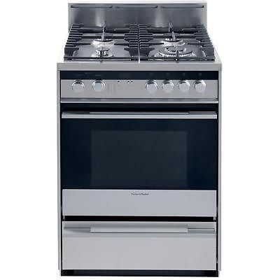 Fisher Paykel 24 Stainless Steel Pro Style Convection Gas Range Ebay Cooking Appliances Gas Range Gas Range Review
