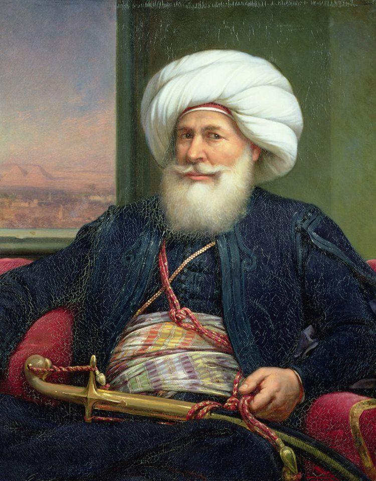 Muhammad Ali Pasha Albanian Ottoman Governor Later Khedive