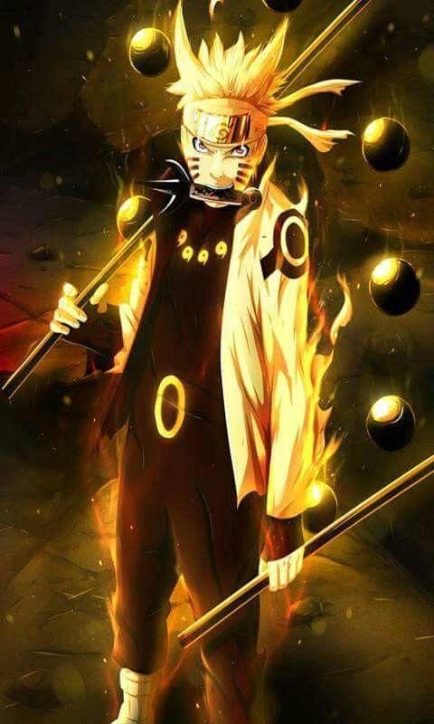 Naruto Uzumaki Dengan Gambar Naruto And Sasuke Ilustrasi