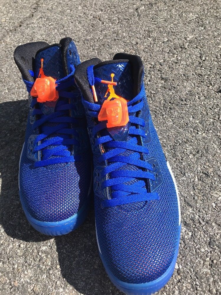 Nike Air Jordan Spike Forty 40 PE Knicks Basketball Shoes Men s 12  807541-405  Nike  BasketballShoes 1fafd288b