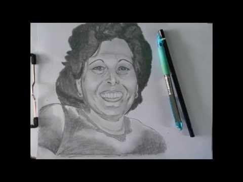 Tutorial de dibujar/ Mi tia de Cuba - YouTube