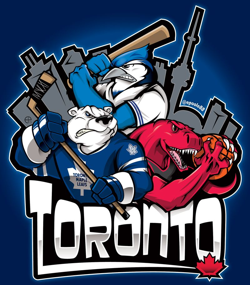 Epoole88 Toronto Maple Leafs Logo Toronto Blue Jays Logo Sports Team Logos