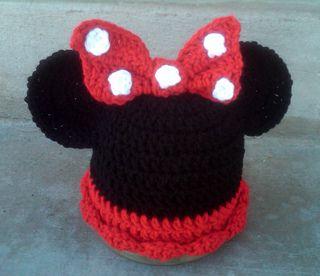 Crochet Mouse Ears Beanie Hat - Pattern Download | z