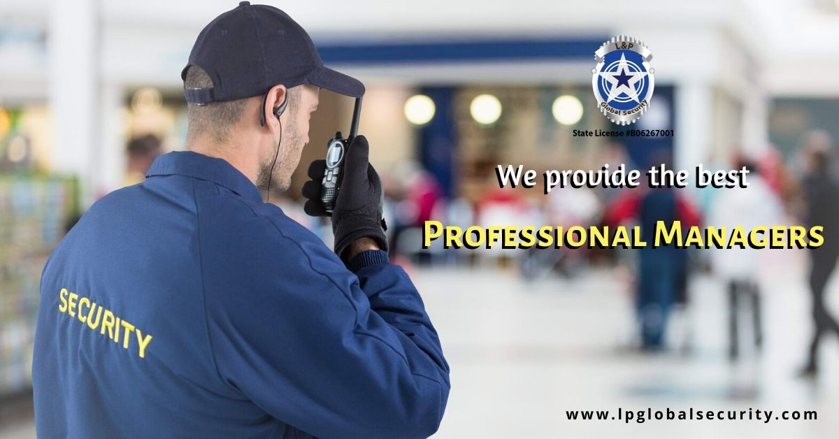 Hire professional managersfor better security purposes