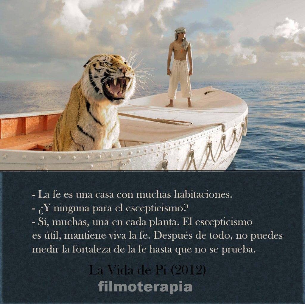Filmoterapia Valentia Life Of Pi Quotes Life Of Pi Pi Quote