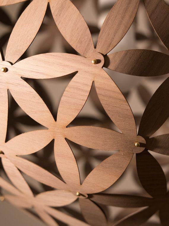 Pendant Light Blomst No 1 Wood Veneer Walnut A To A Etsy Pendant Light Wood Veneer Veneers