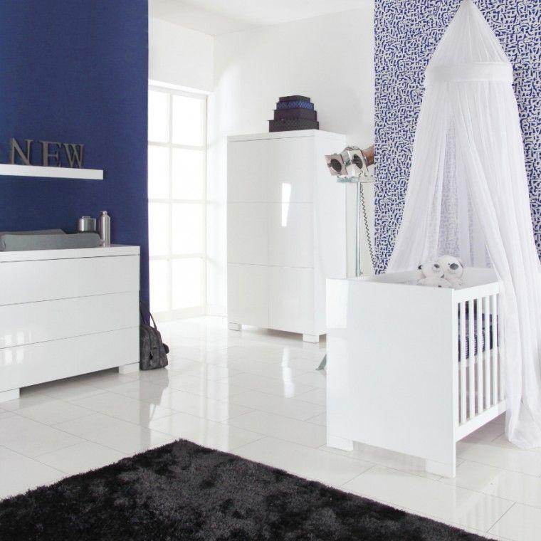 Babykamer Bateau Wit.Europe Baby Briljant Babykamer Wit Hoogglans Bed 60 X 120 Cm