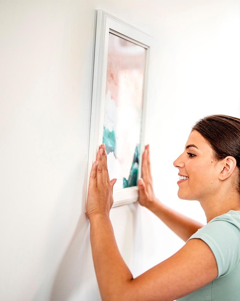How To Hang A Heavy Picture Without Nails Hanging Heavy Pictures