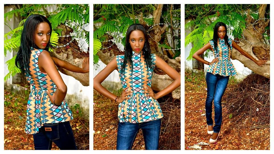 joli haut le pagne africain pinterest jolies robe wax et pagne africain. Black Bedroom Furniture Sets. Home Design Ideas