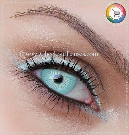 6fe5218bb1 White Eye Contacts | White Ice Crazy Eyes 30 day wear - Checkout Lenses
