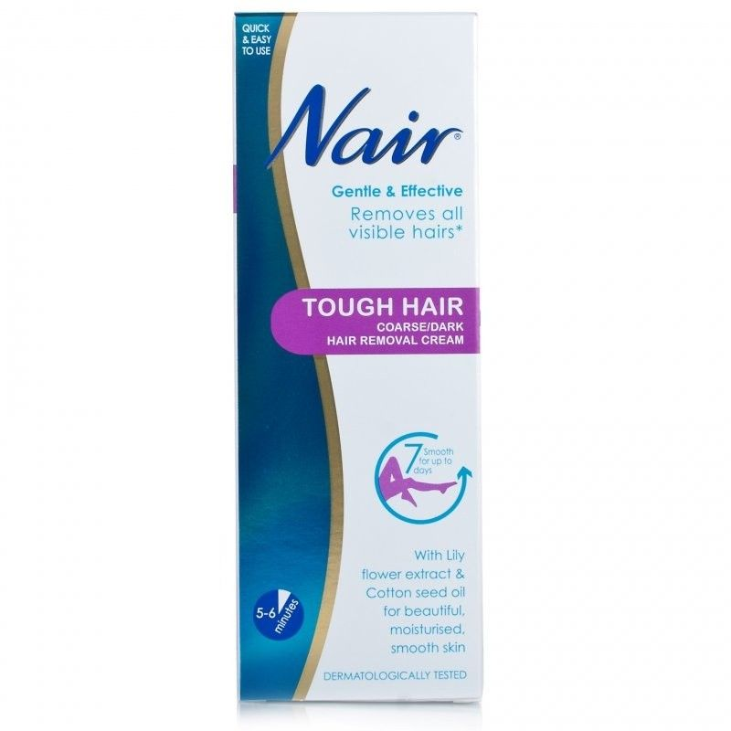 Buy Nair Tough Hair Coarse Dark Hair Removal Cream Hair Removal Cream Hair Removal Dark Hair Removal