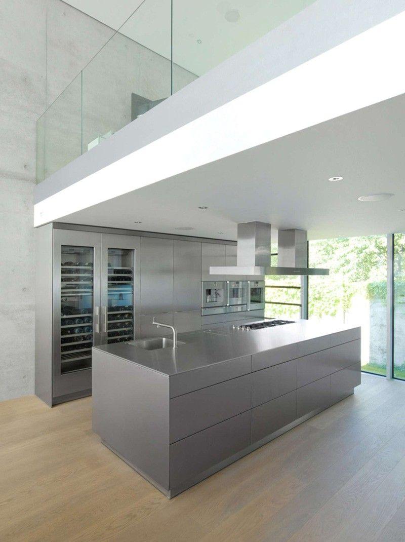 Küchenideen mit schwarzen schränken contemporary house in germany  cabin fever  pinterest  haus