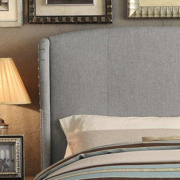 Best Gettys Upholstered Wingback Headboard Home Decor 400 x 300