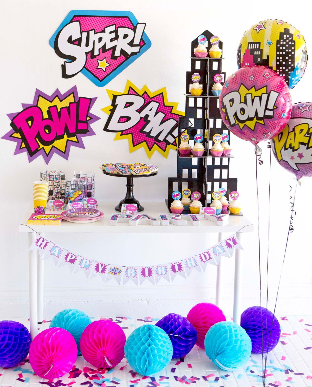 girl superhero party pinterest superhero birthday