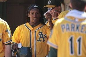 Oakland Athletics Jemile Weeks