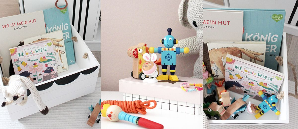 Spielzeugkiste fürs Kinderzimmer. Ein Betrag von @ichliebedeko