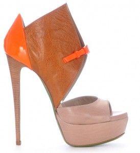 Ruthie Davis Monti - Tan Golden Orange