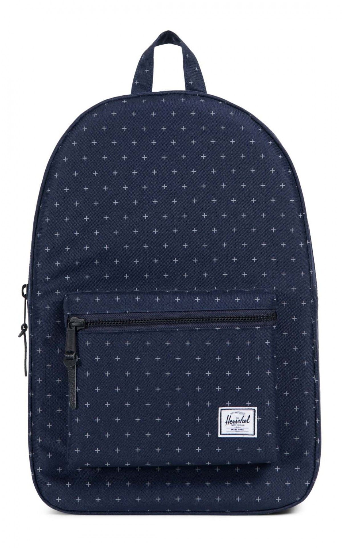 61719da669 Herschel Settlement Backpack 600D Poly Peacoat Gridlock