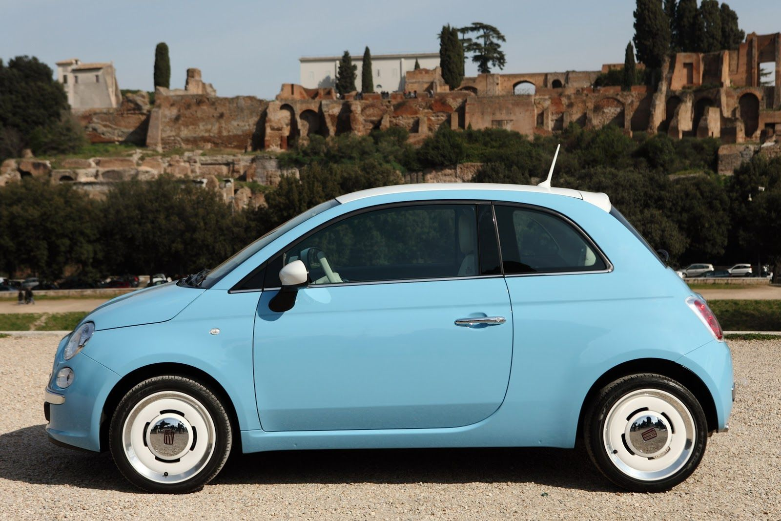 Fresh Photos Of Fiat's Adorable New 500 Vintage '57