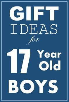 Cool Christmas and Birthday Gift Ideas for 17 and 18 year old boys.