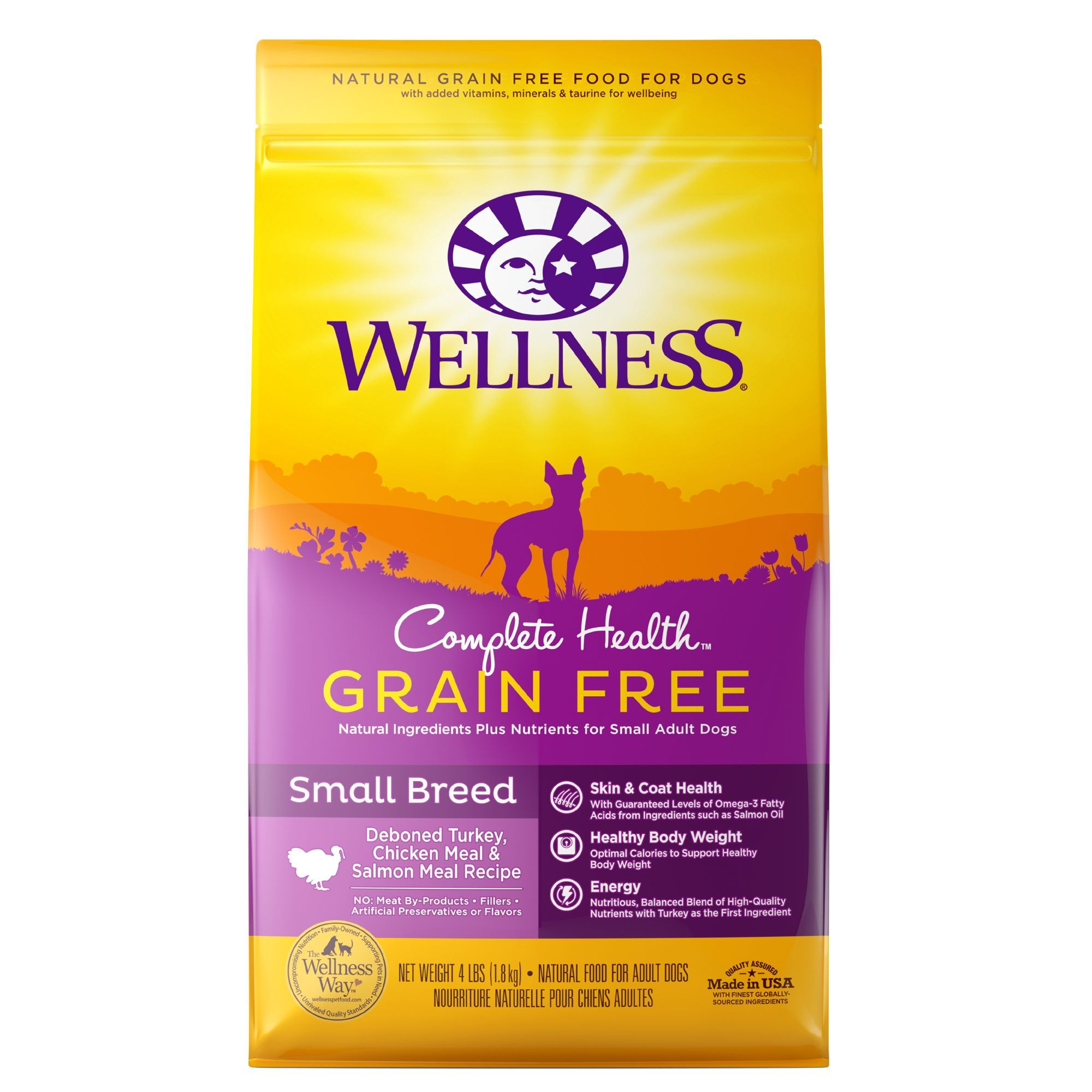 Wellness Complete Health Small Breed Adult Dog Food Natural