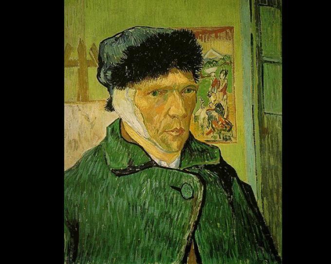 Fotos Los Cuadros Más Famosos De Vincent Van Gogh Autorretrato Herido Producción Artística Arte Impresionista Van Gogh