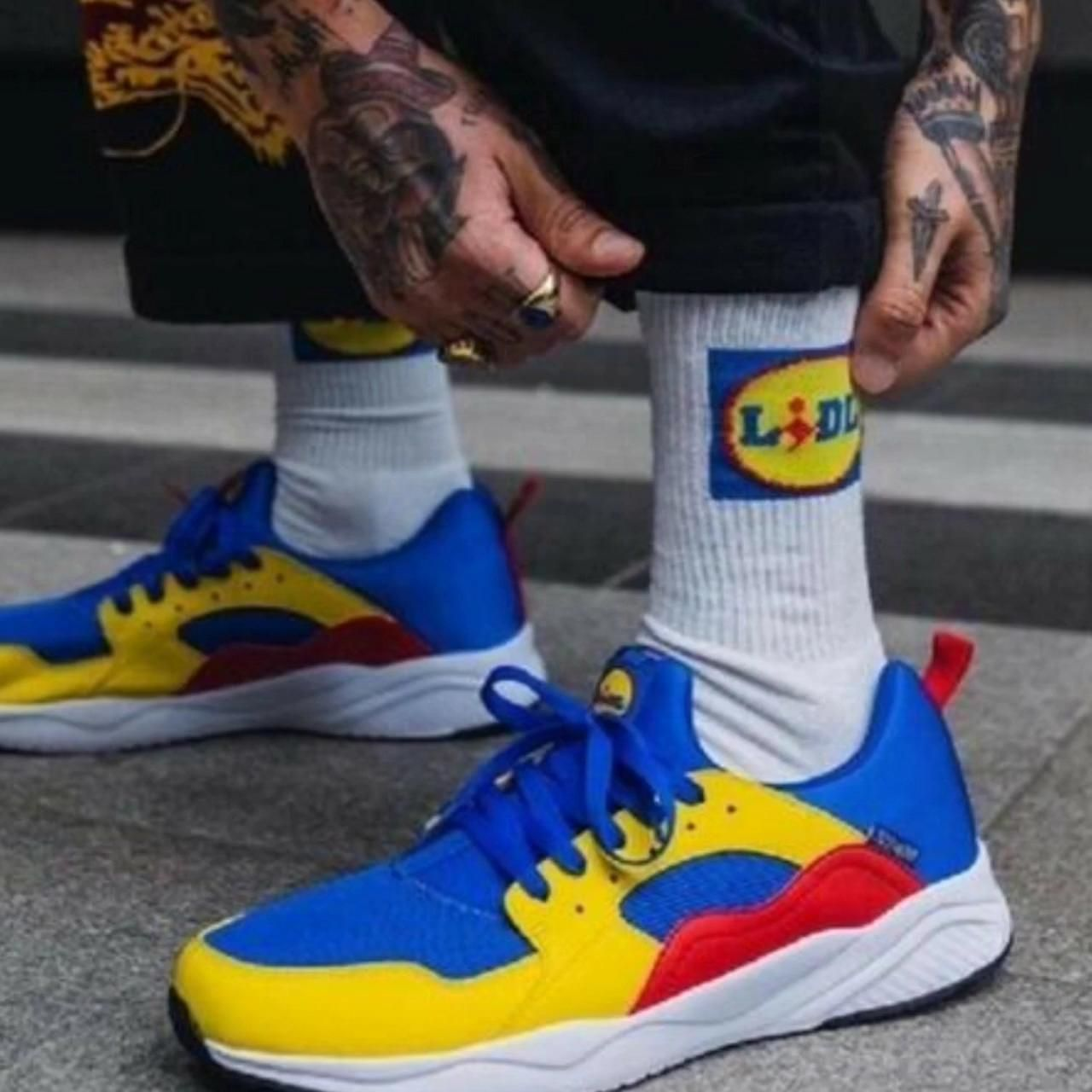 congestión pianista litro  the #Lidl #sneaker? A #storm in a glass of water, but... [Video]    Sneakers, Nike, Sneakers nike