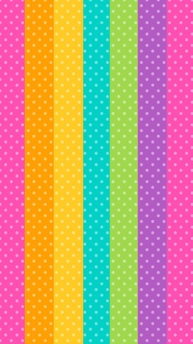 Papel Dec Con Rayas De Colores Escolar Pinterest