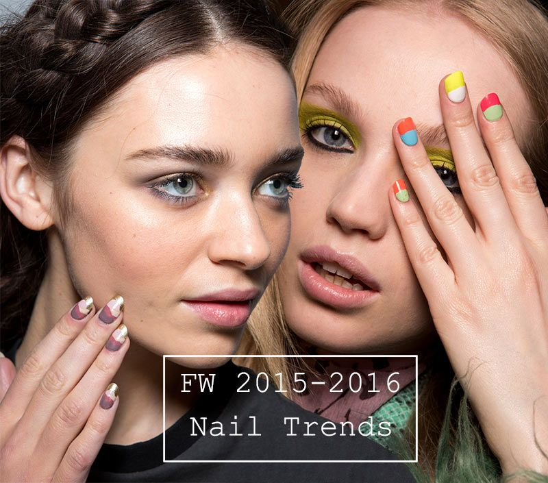 Nail Trends Fall 2016: Fall/ Winter 2015-2016 Nail Trends