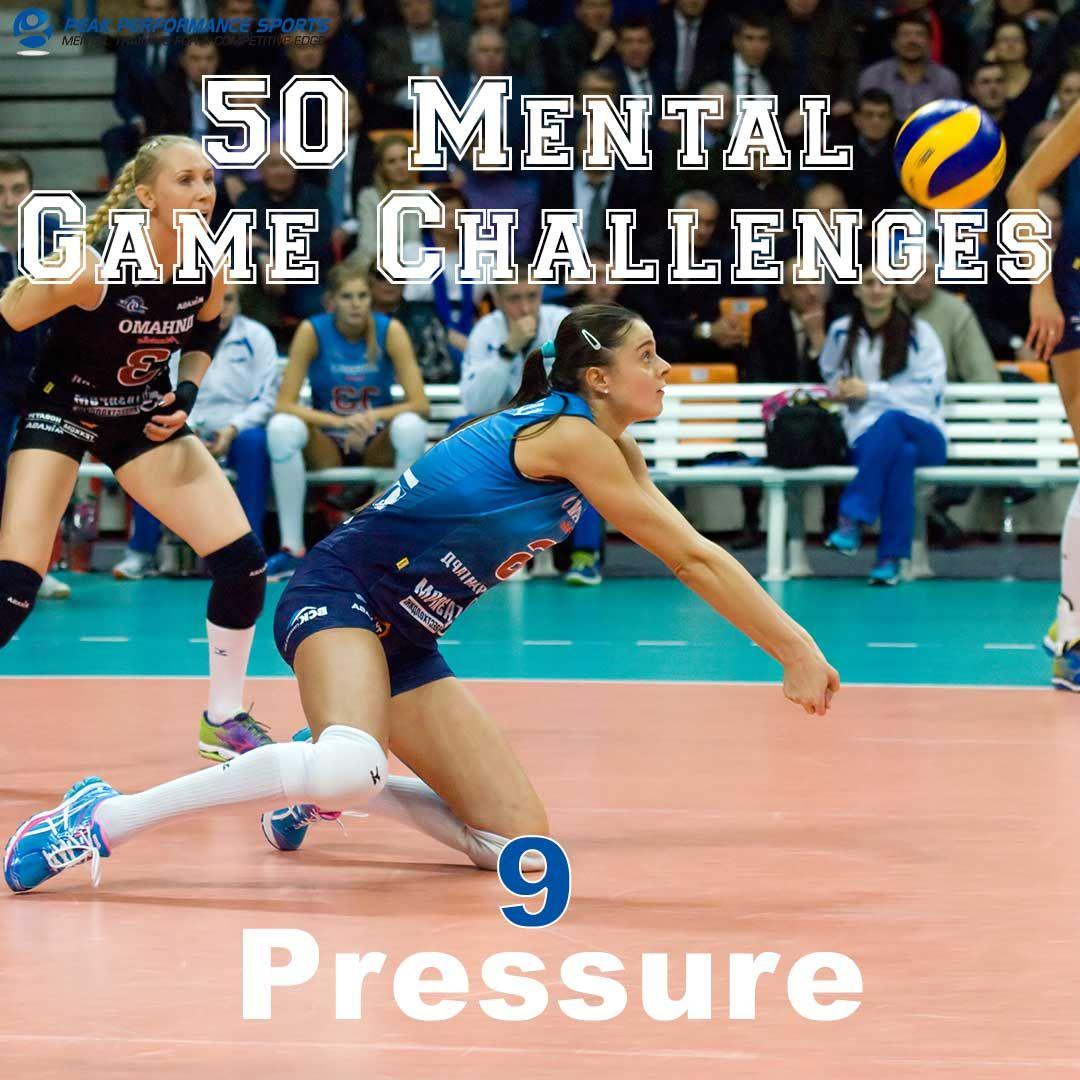 Pressure Sports Psychology Athlete Mental Training