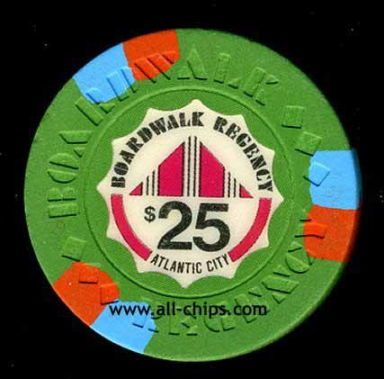 #AtlanticCityCasinoChip of the Day is a $25 Boardwalk Regency 1st issue you can get here http://www.all-chips.com/ChipDetail.php?ChipID=17339 #CasinoChip #Ceasars