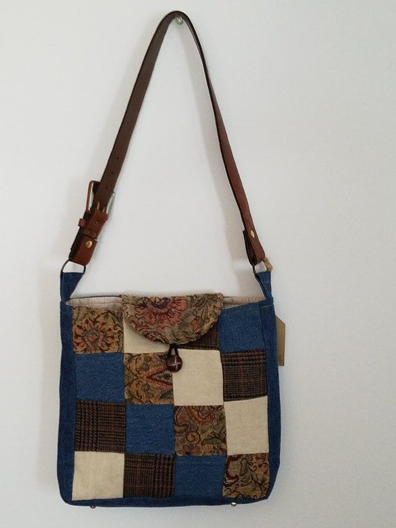 Hey, I found this really awesome Etsy listing at https://www.etsy.com/listing/495083060/upcycled-patchwork-denim-linen-and