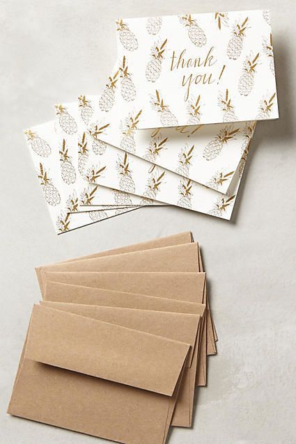 Wedding Thank You Cards that Make Writing Them a Piece of Cake