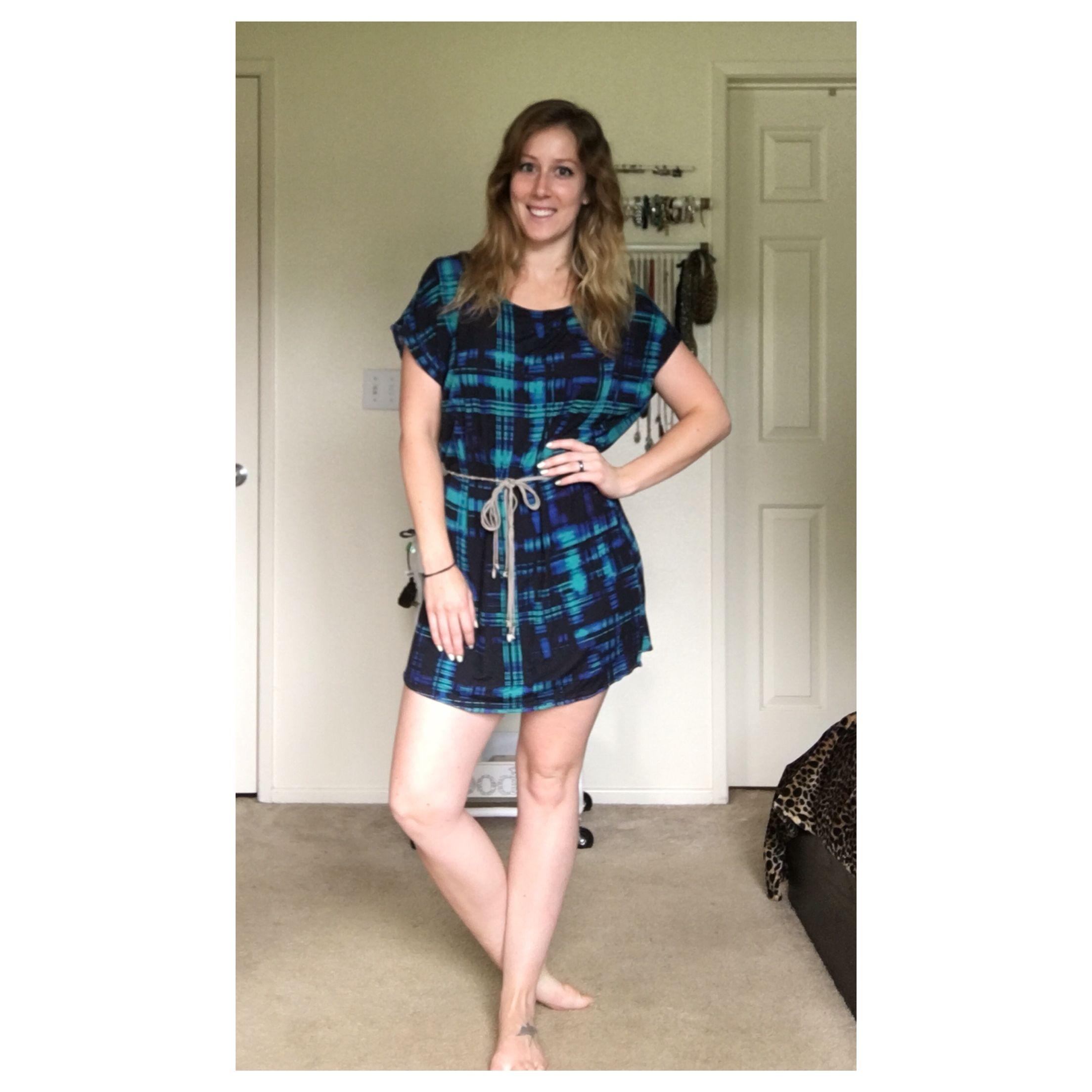 A dress I made.