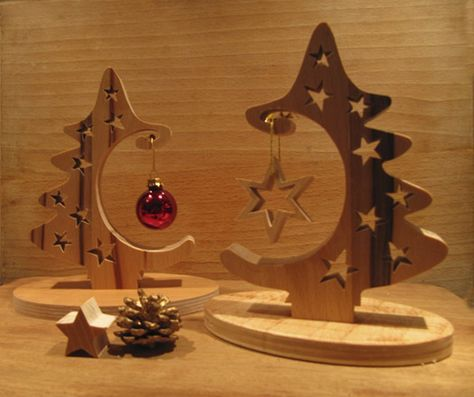 diy inspire ornament holder holidays weihnachten holz. Black Bedroom Furniture Sets. Home Design Ideas