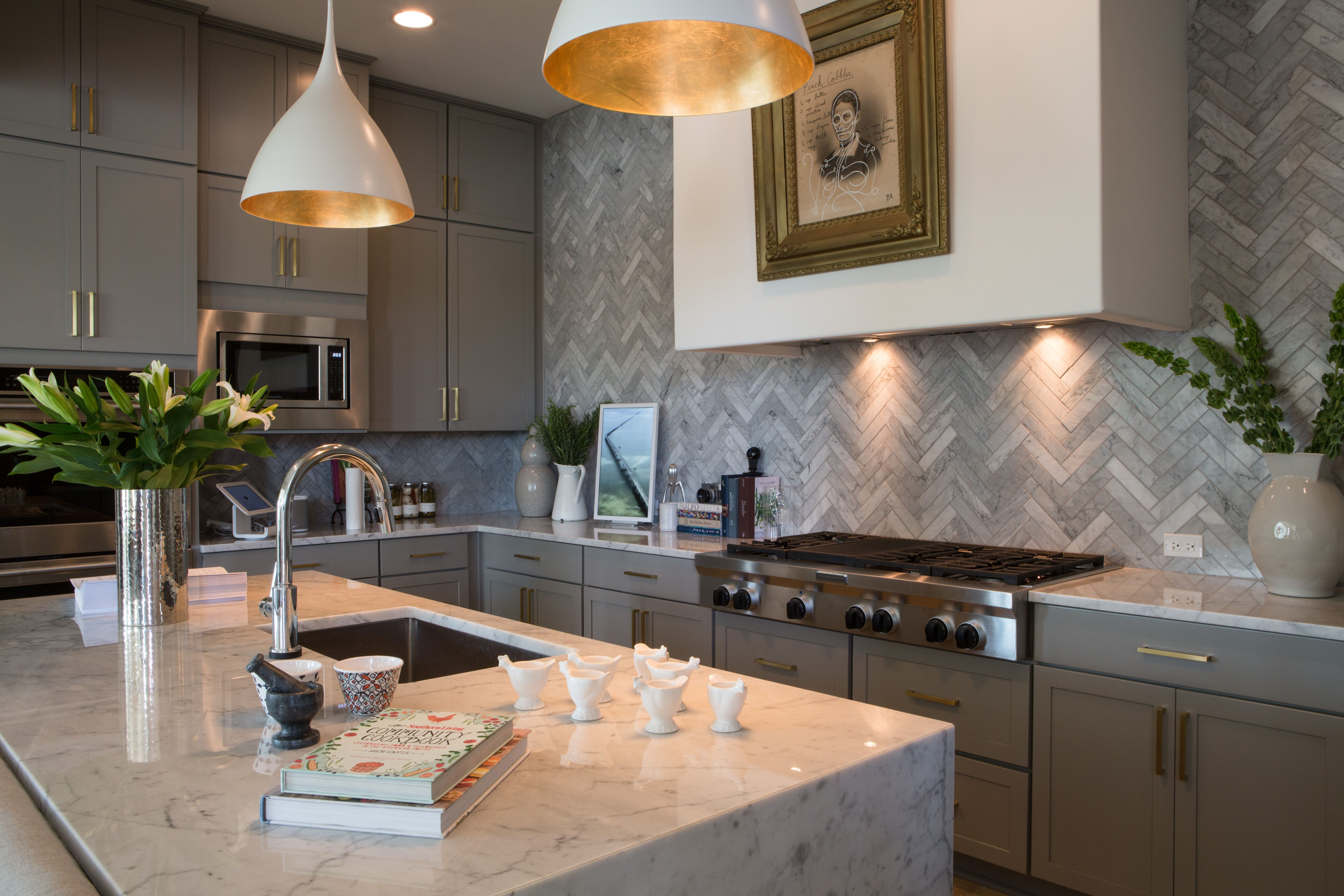 Southern Living Inspired Home 2016 Inspired Homes Southern Living Custom Kitchen Cabinets