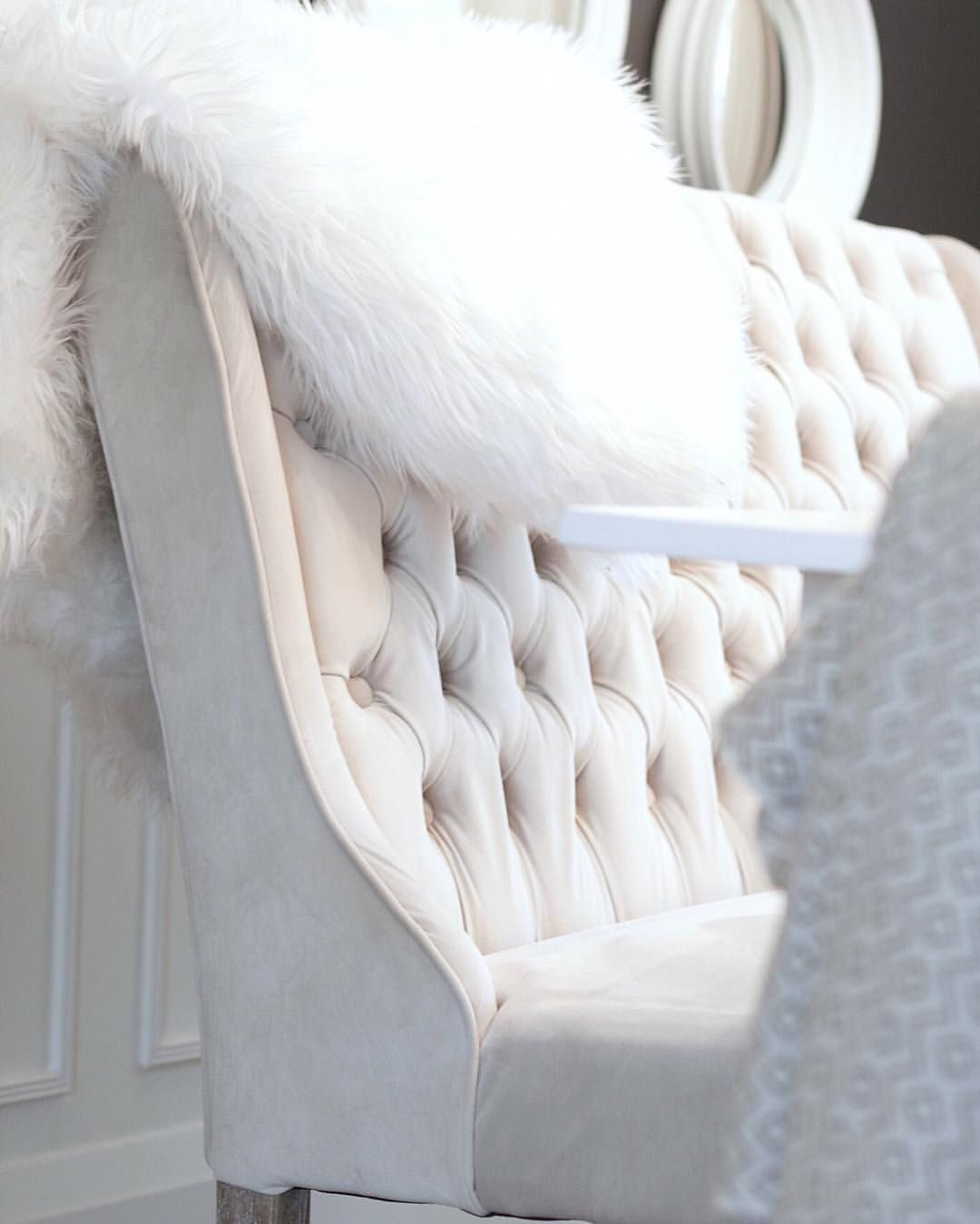 Why not swap your dining room chairs for a classic bench  We love this  tufted bench from HomeSense    Karin Bennett DesignsSee this Instagram photo by  karinbennettdesigns   110 likes  . Dining Room Chairs Homesense. Home Design Ideas