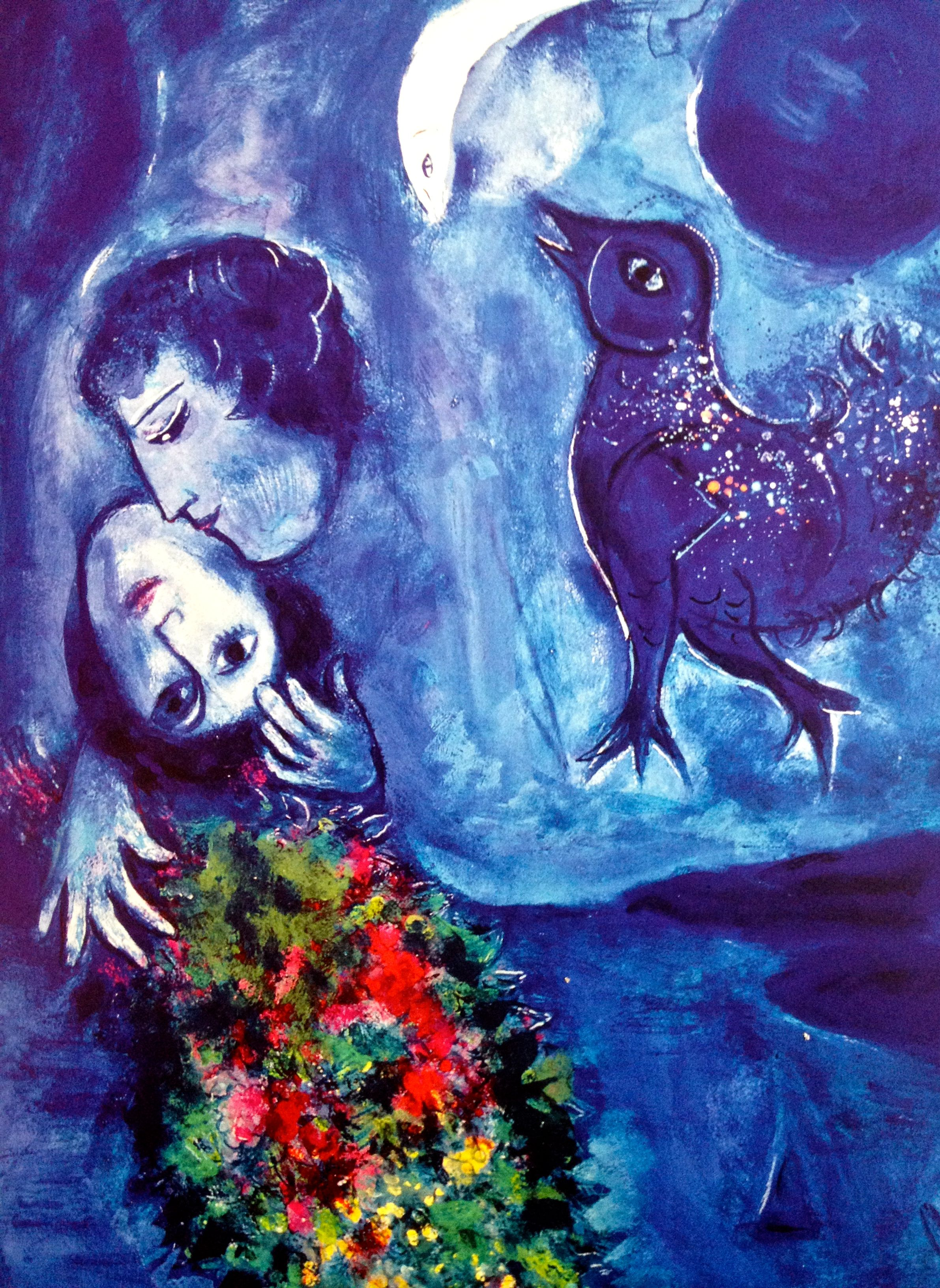 Le Paysage Bleu, 1949 | Artist: Chagall | Pinterest | Search, Or ...