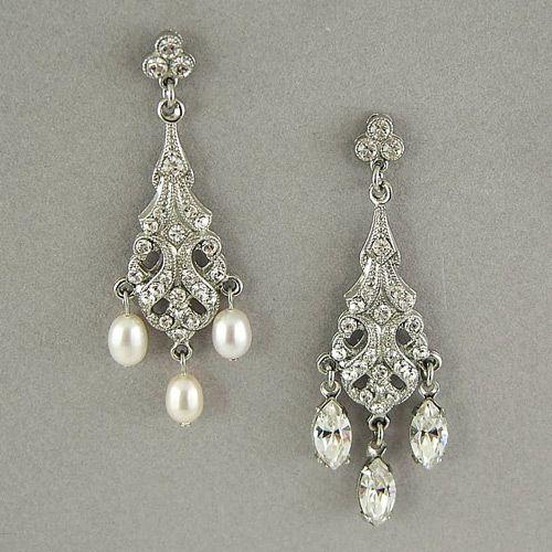 Regina B. Jewelry, Chandelier Earrings | Chandelier Earrings with Crystal Tear Drops
