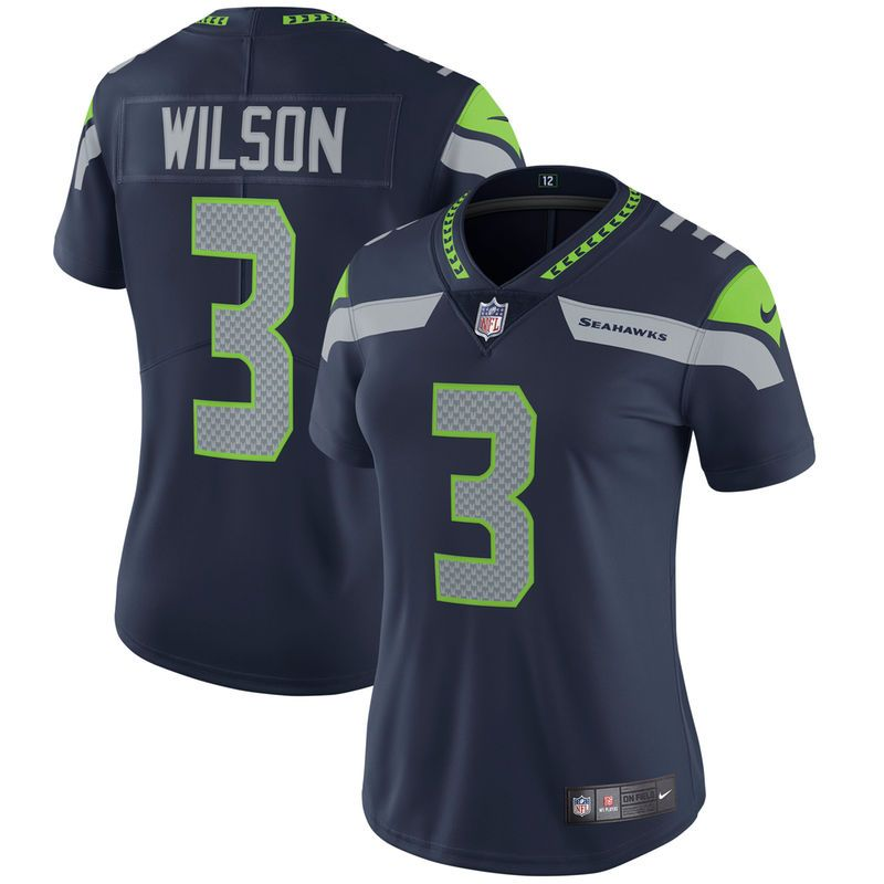 Russell Wilson Seattle Seahawks Nike Women s Vapor Untouchable Limited Player  Jersey - College Navy 12c0f63eb