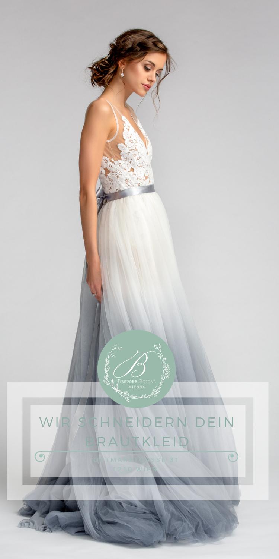 Maßgeschneiderte Brautkleider in Wien. Brautmode nach Maß