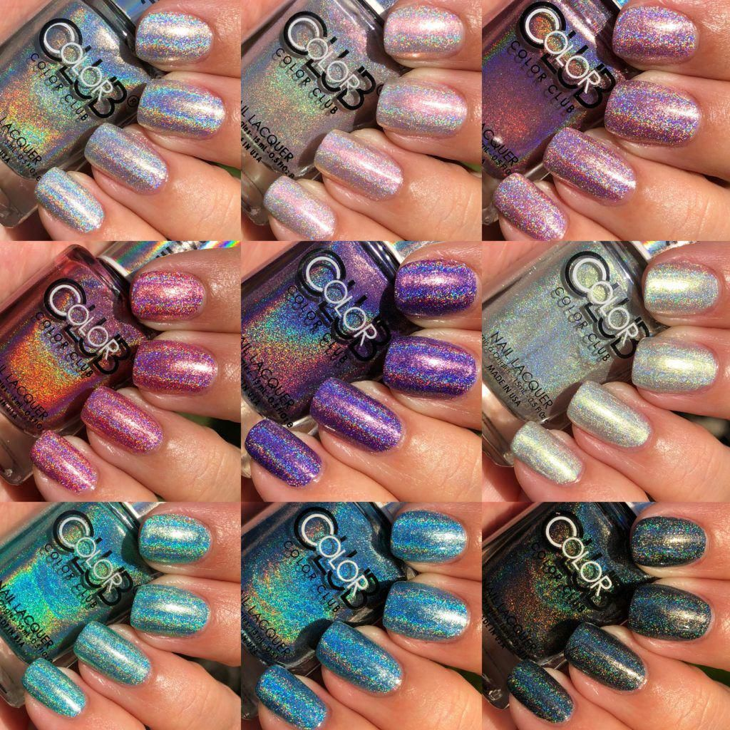 Color Club Holographic Collection exclusive to Walmart – The Polished Pursuit
