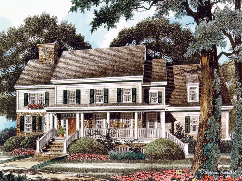 house plan - clifton - stephen fuller, inc. - this looks very much